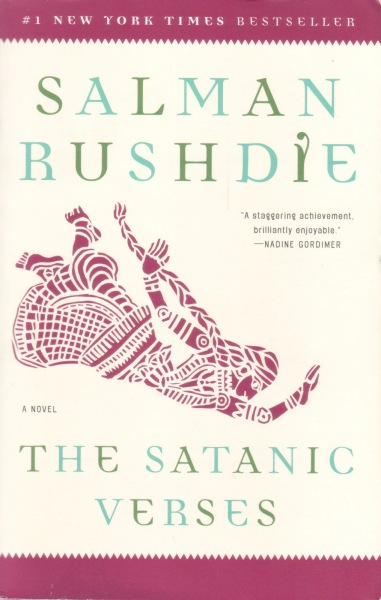 Salman rushdie-the satanic verses-1989-viking-6 x 9546 pages-softcover book-signed by authorsalman rushdie is an