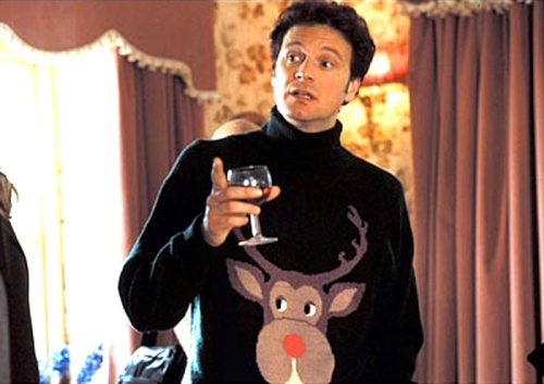 Mark Darcy sweater