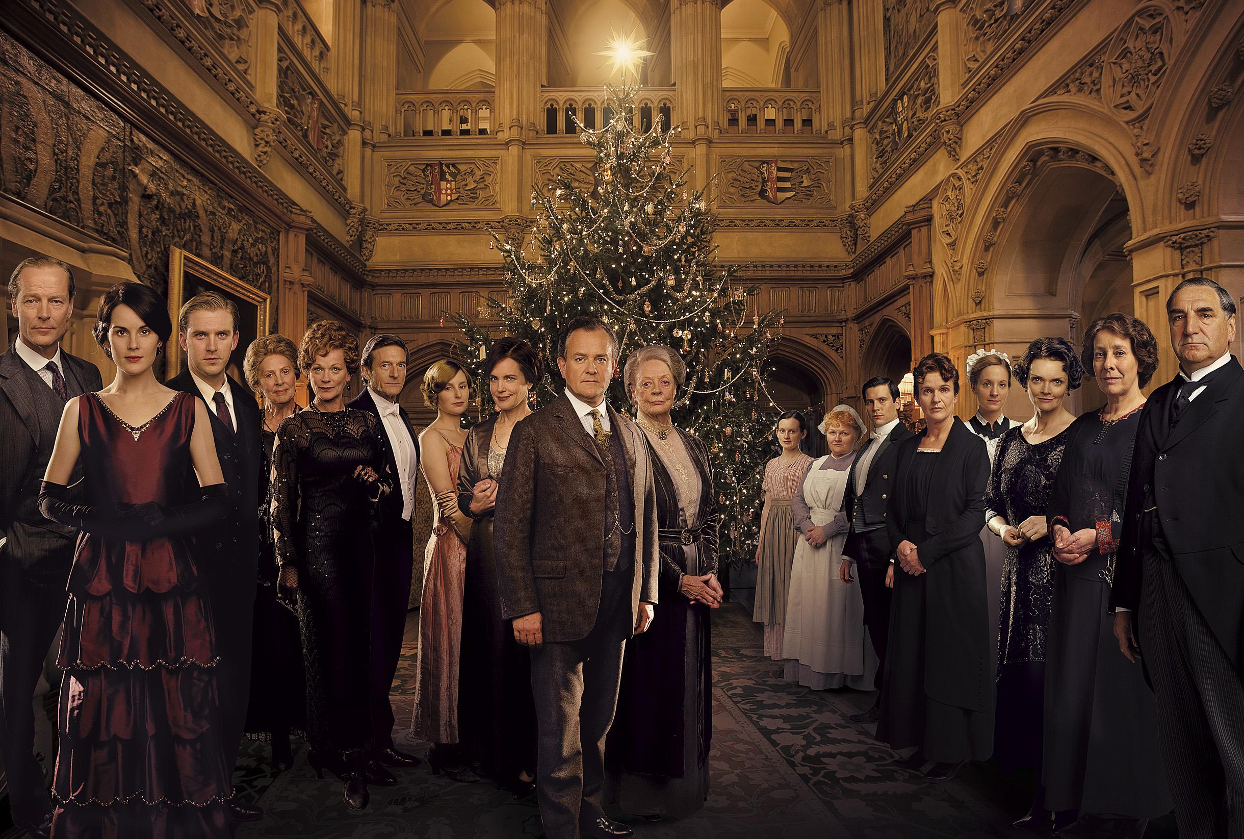 Christmas at Downton Abbey | britishaisles