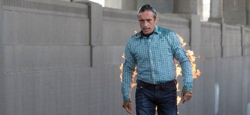 Hammond on fire