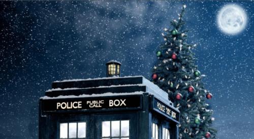 Christmas Tardis
