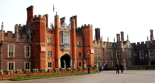 Hampton Court Palace front entrance
