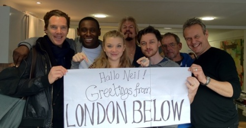 the cast of neverwhere