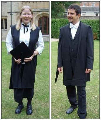 Oxford academic dress