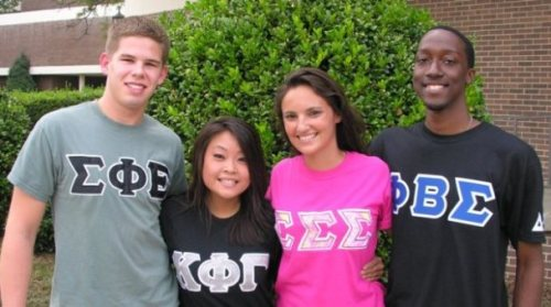frats and sororities
