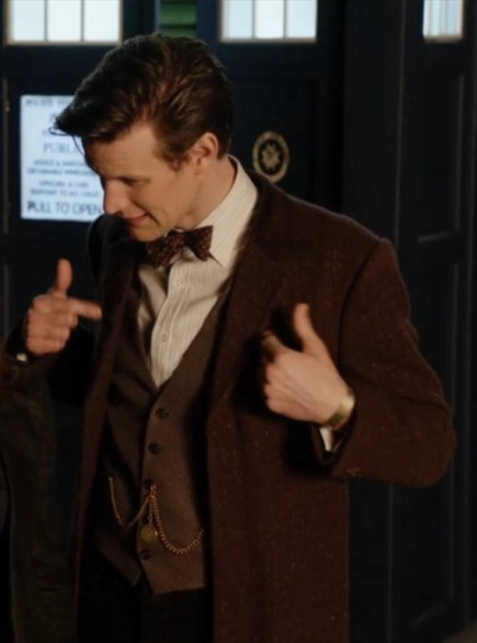 Dr Who new costume