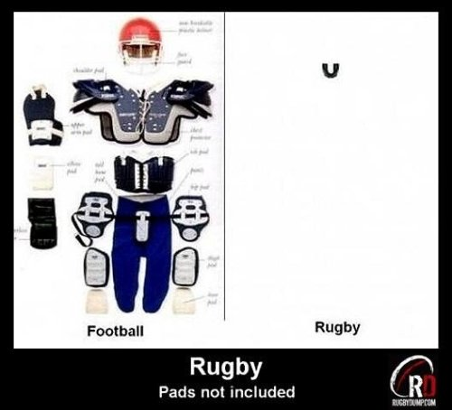 Rugby pads