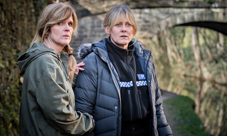 Siobhan Finneran as Clare and Sarah Lancashire as Catherine in Happy Valley